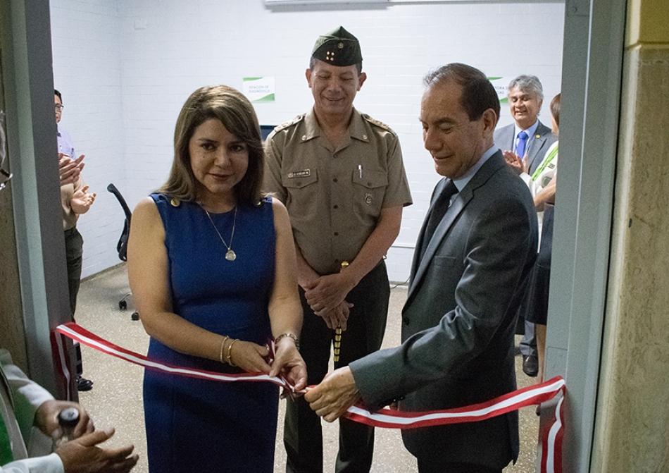 La IAFAS inaugura sala de mamografía con equipo altamente tecnológico en el hospital militar central